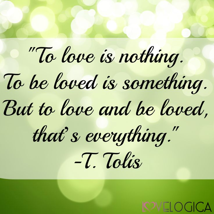 Love Is Quotes: Love Is A Two-way Street