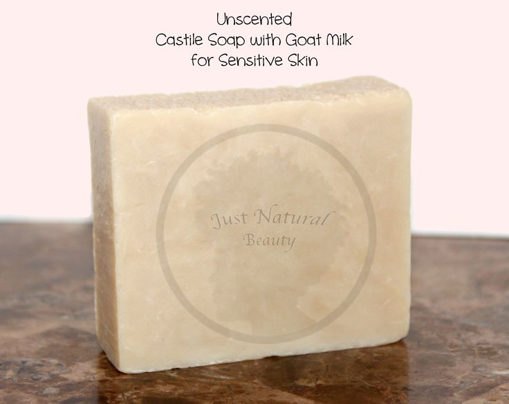 """Unscented Castile Soap: Castile Soap has been a very over used term these days. Many companies throw """"Castile"""" around to market their soaps, but what is Castile soap? Castile Soap is made from oil and lye (basically) and the properties of the soap are dependent on the oil. Castile soap is traditionally made from 100% Olive Oil base, which gives the soap a slippery mild feel to the bar with light lather."""