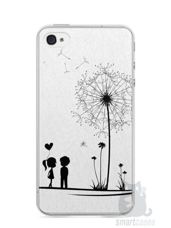 Capa Iphone 4/S Casal Apaixonado - SmartCases - Acessórios para celulares e tablets :)
