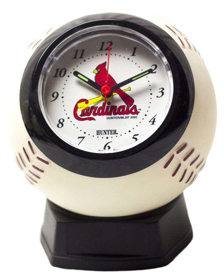 St Louis Cardinals Official MLB baseball alarm clock