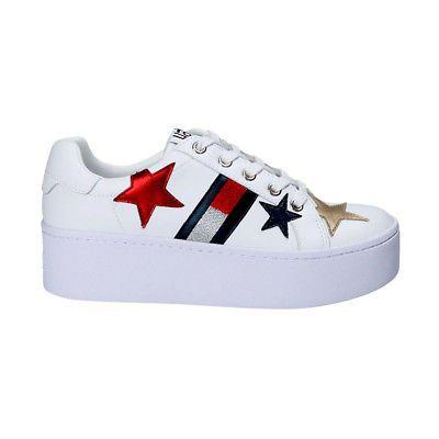 4e362349dab9 Women s Shoes Tommy Hilfiger Sneaker Bright Platform White en00160- без  перевода