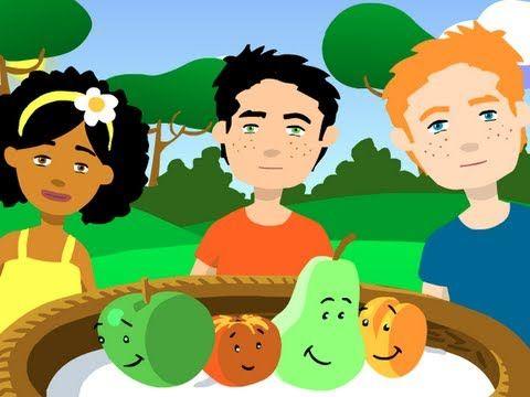 ▶ Pomme pêche poire abricot - YouTube