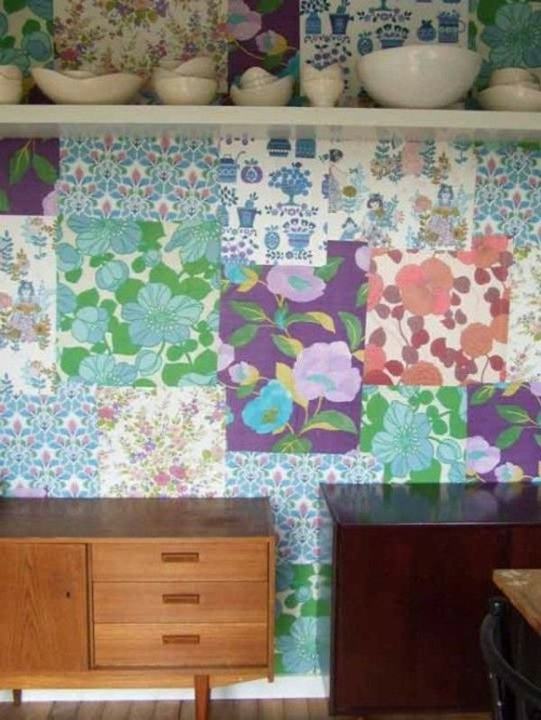 Kombinasi Berbagai Wallpaper Pada Tembok