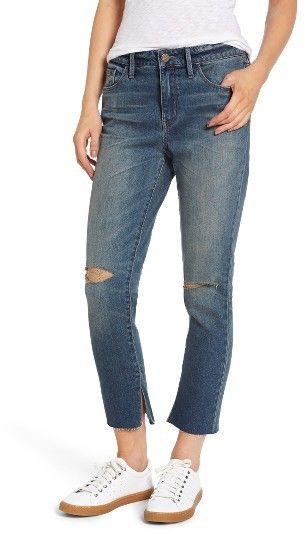 Women's Treasure & Bond High Waist Skinny Crop Jeans