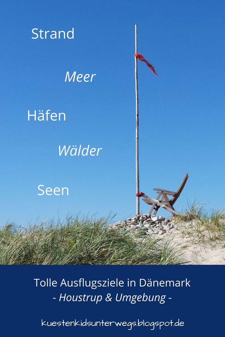 Aus unserem Dänemark-Urlaub: Wunderschöne Ausflugsziele rund um Houstrup. Teil 1: Strände, Häfen und einzigartige Natur. Gammelgab Strand, Houstrup Strand, Henne Strand, Tyskerhavn, Filsö, Blabjerg Kliplantage.