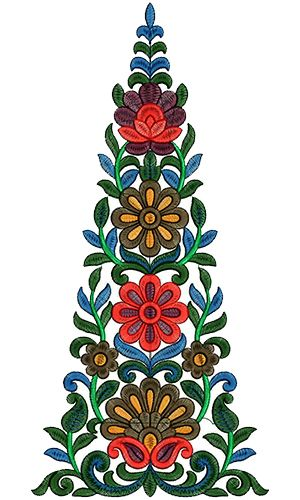 Kali Embroidery Design 13158
