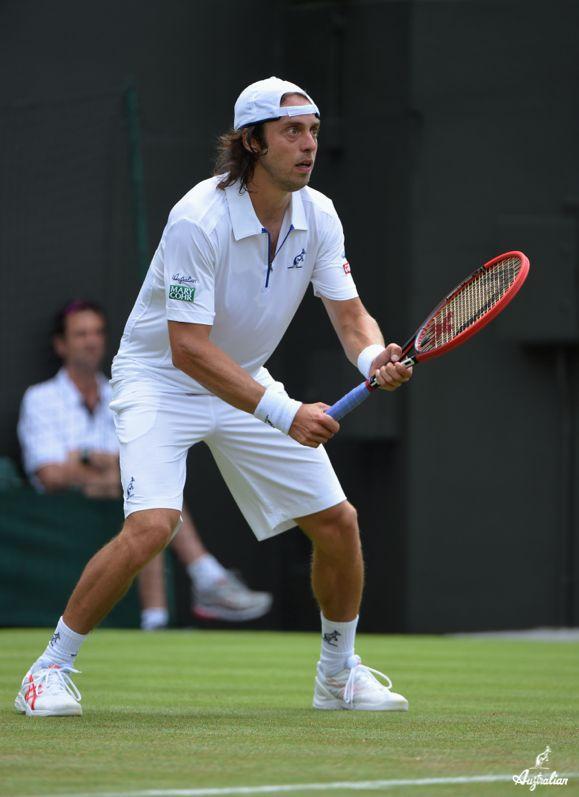 Paolo #Lorenzi a #Wimbledon