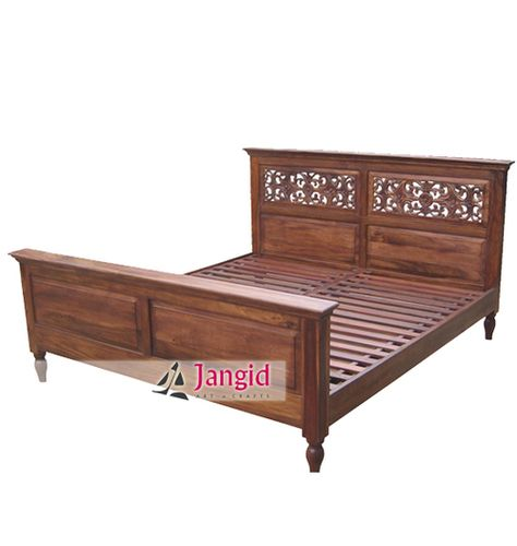 This is Bedroom Double Bed made from Sheesham Wood . We are mainly using Teak  Wood