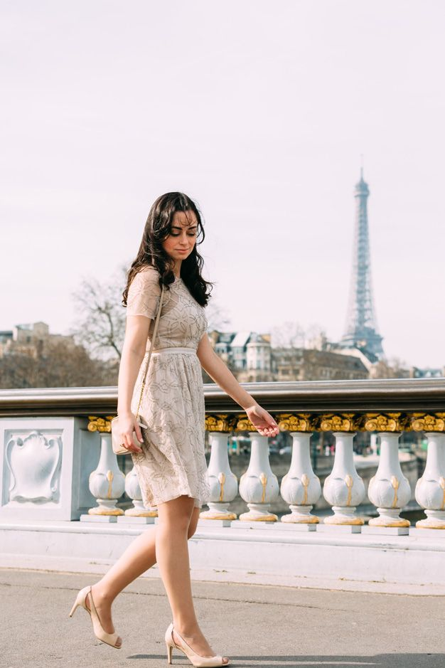 coco and vera, top paris fashion blog, iheartparis.fr photography, paris street style, eiffel tower, pont alexandre III, needle and thread dress, paris fashion week 2015