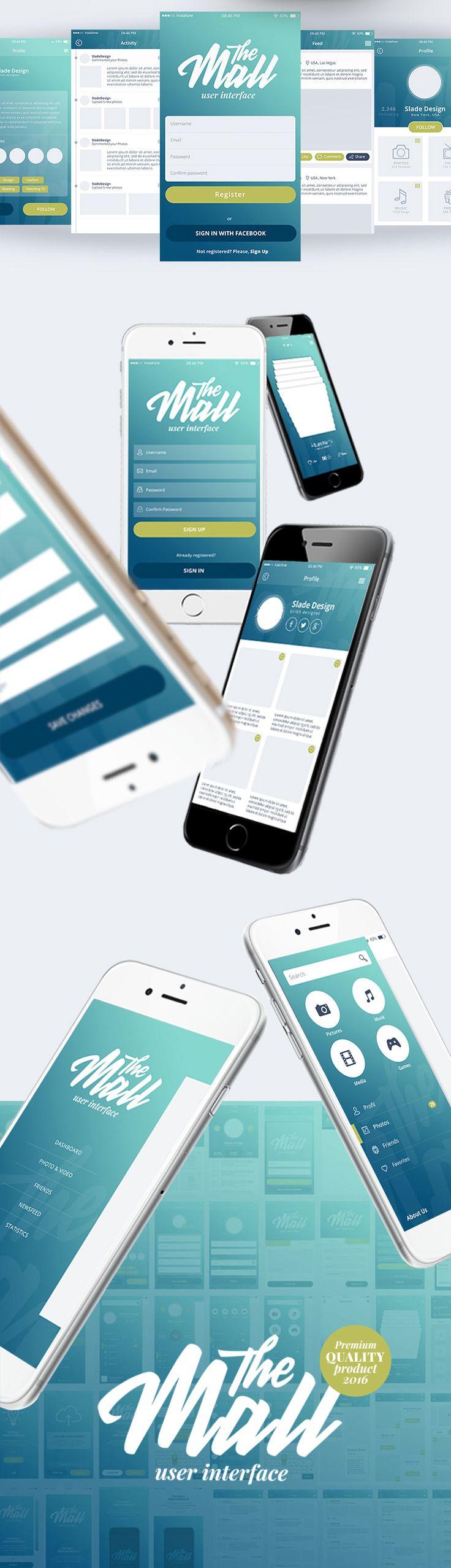 핸드폰의 움직임시 되는 것처럼 보여 앱이 살아 있는 느낌을 준다.
