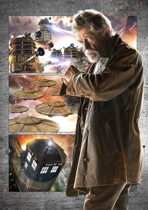 DOCTOR WHO - John Hurt - 'The War Doctor' A3 poster in Collectables, Science Fiction, Doctor Who | eBay
