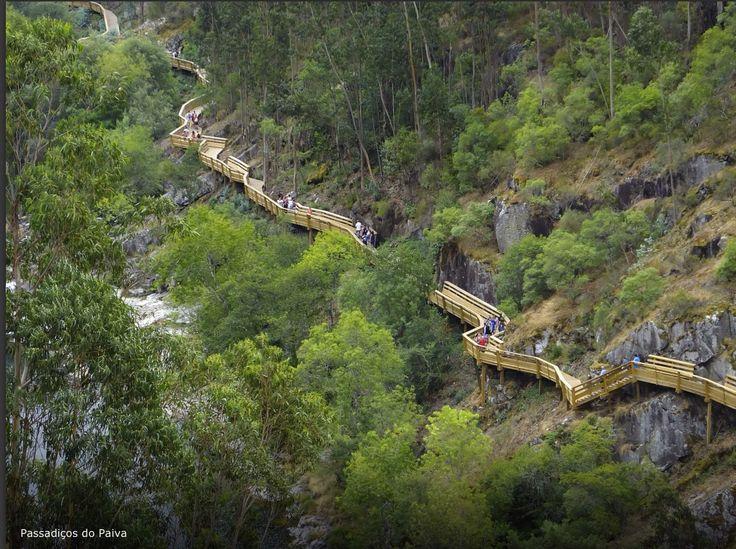 Passadiços do Paiva, Arouca. Aveiro, Portugal