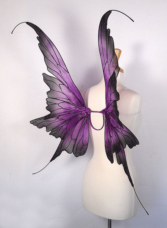 Fairy wings Amazing for fairy costume wedding by OnGossamerWings