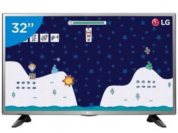 "TV LED 32"" LG 32LH515B - Conversor Digital 1 HDMI 1 USB"