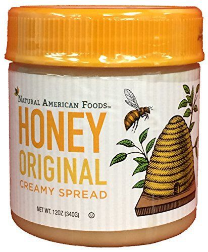 Natural American Foods Honey Creamy Spread, Original, 12 Ounce - http://mygourmetgifts.com/natural-american-foods-honey-creamy-spread-original-12-ounce/