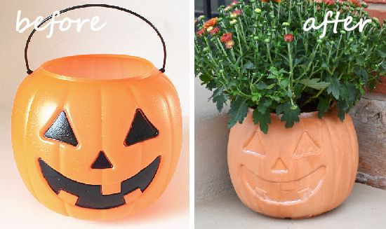**Jack-o'-Lantern Pumpkin Terra Cotta Pot Tutorial