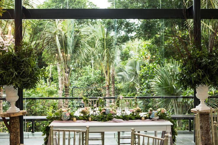 Fairy Tale Wedding Bridal Table