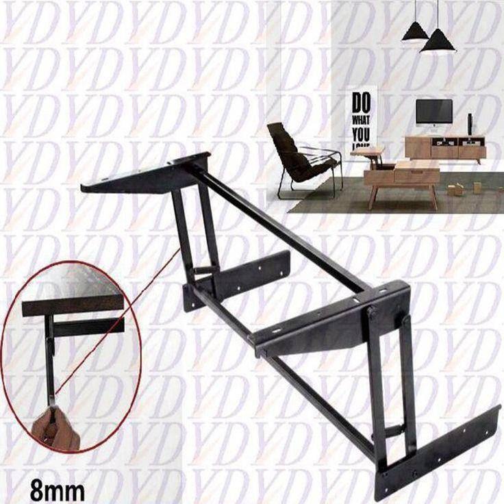 Купить товарПоднять журнальный столик механизм сложить мебельная фурнитура петляhttp://ali.pub/tkp4b
