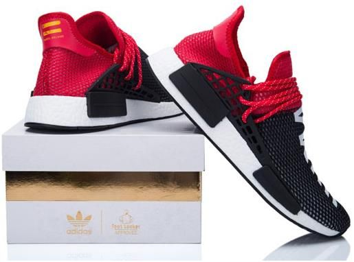 Adidas NMD Huhan Race Mens running shoes Black red
