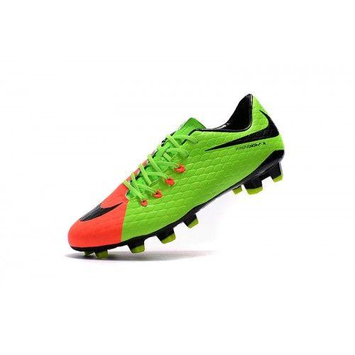nike hypervenom cheap nike hypervenom iii fg green orange soccer shoes