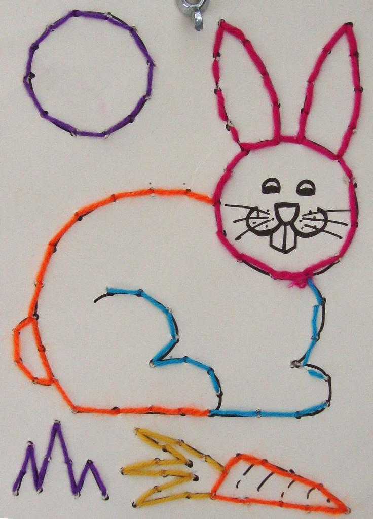 De Onderwijsstudio - Rijgen konijn