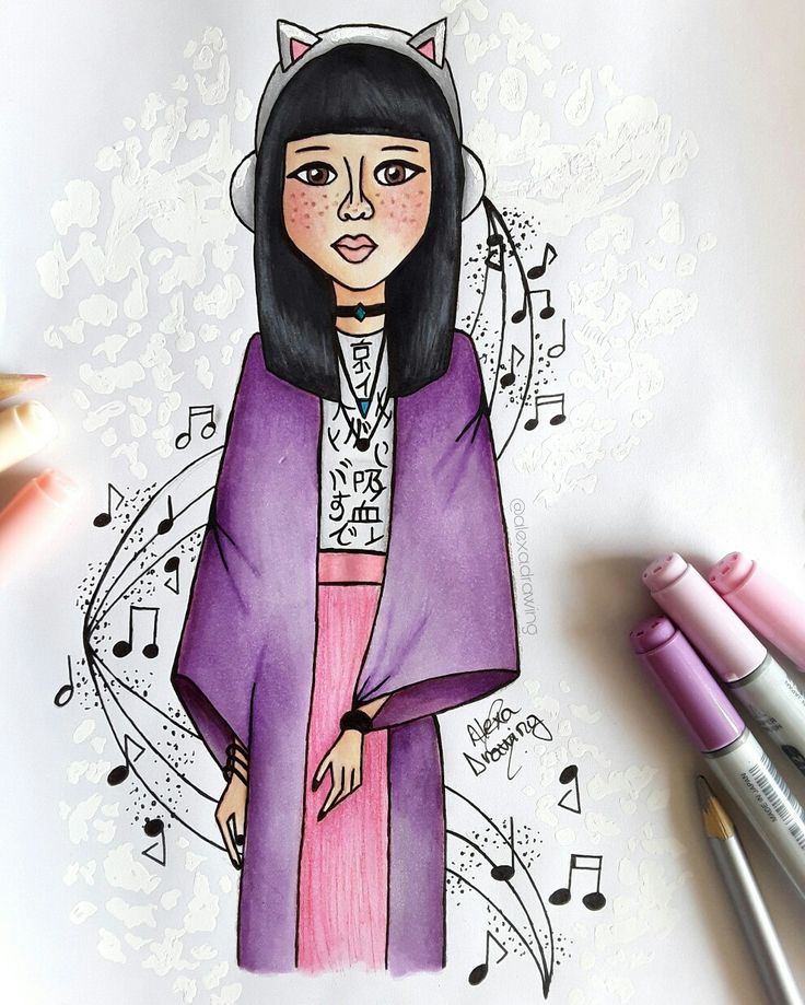 ~ the sound of color ♡ ~ by Alexa Drawing