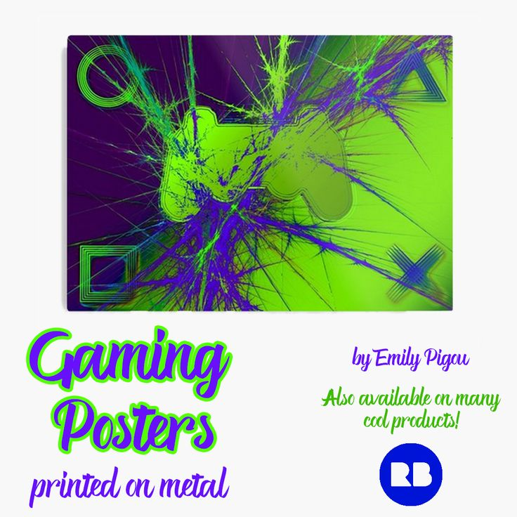 Play Games Metal Print by Emily Pigou. Perfect Gifts for Gamers! #metalprint #poster #gamingposter #gifts  #kids #kidsroom #gamingroom #ps3gaming #teen #livingroom #ps3 #mancave #bachelor #singles #bedroom #gamerromm #family #online #shopping  #gamer  #TBT #gamerposter #gamingposter #onlineshopping #redbubble #gifsforhim  #geek #geekgifts #giftsforhim #style #giftideas #xbox #popart #gaming #homedecor #homegifts #geekhome #home #cool #awesome #campus #dorm #gamergifts #39 #popular
