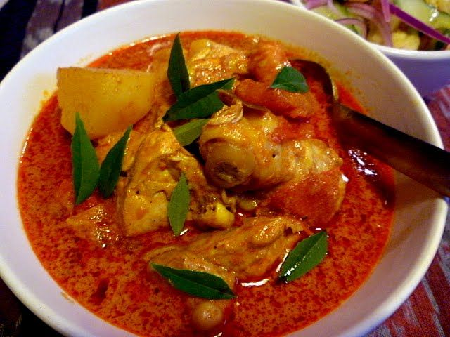 Penang/Red Curry with Coconut Milk