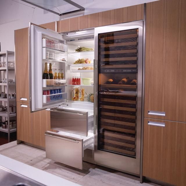 Sub Zero Refrigerator With Integrated Wine Storage For Service In Los Angeles Call