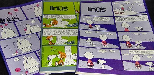 peanuts-linus COMICS NOTEBOOKS  (serie operazione nostalgia)