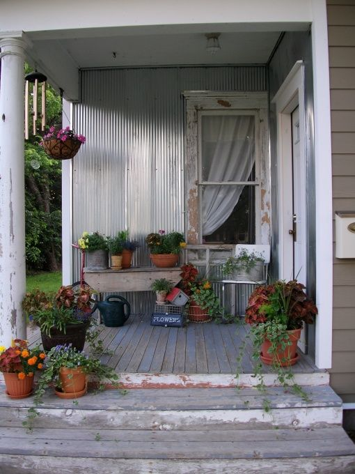 151 Best Decorating A Country Porch Images On Pinterest