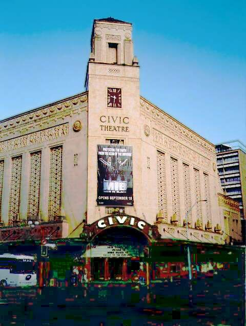 The Civic Theatre1929, Corner Queen and Wellesley Streets, Auckland, NZ