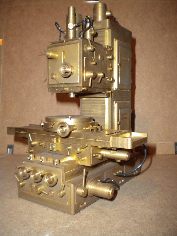 milling machine sculpture