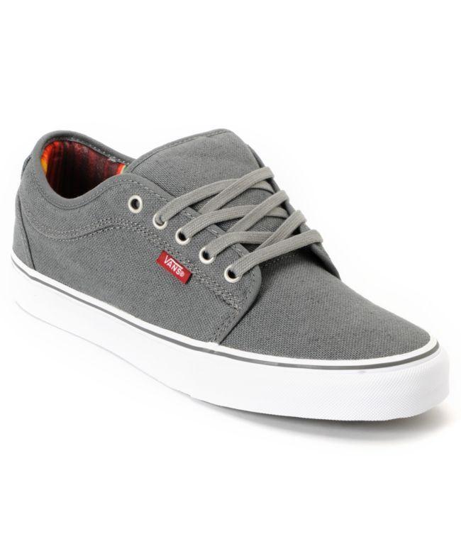 Vans · Chukka Low Mexican · Blanket · Grey · Canvas · Shoe · Skate · Fashion · Trendy · {la plantilla de zarape, mexicana}