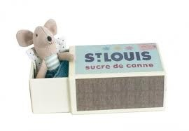 Maileg Toy - I love these french toys, little mouse in a box