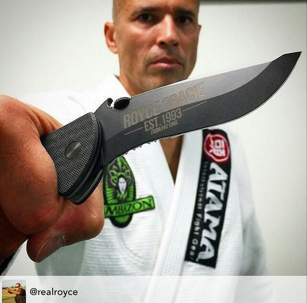 Royce Gracie carries the Commander! http://emersonknives.com/product-category/knives/commander-the-knives/
