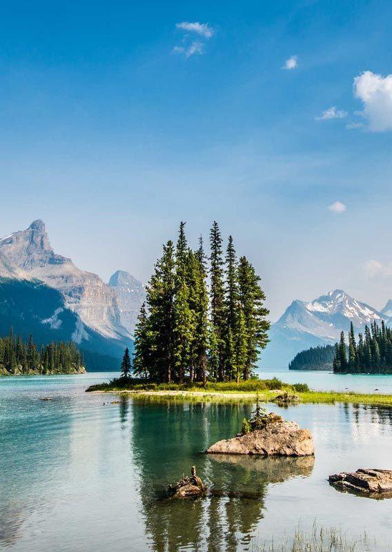 Canada In 2020 Lake Landscape Maligne Lake Sunset Landscape Photography