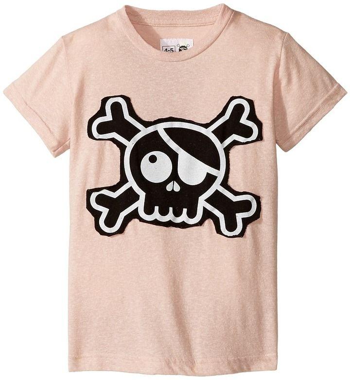 Nununu Skull Patch T-Shirt (Infant/Toddler/Little Kids)