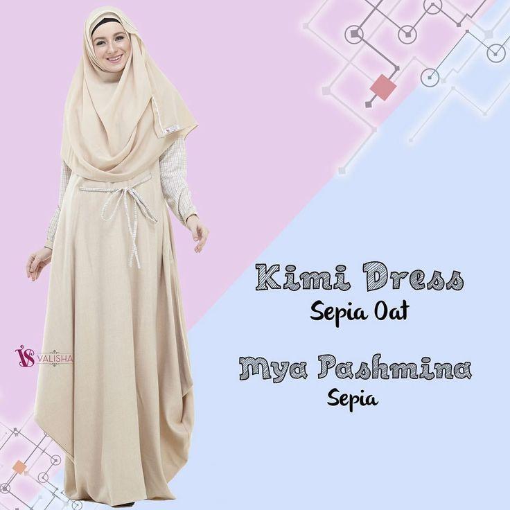Gamis House Of Valisha Kimi Dress Sepia Oat - baju gamis wanita busana muslim Untukmu yg cantik syari dan trendy . . Detail ukuran: XS: LD 90 PB 135 S: LD 94 PB 137 M: LD 100 PB 140 L: LD 104 PB 142 XL: LD 108 PB 145 . . - Keliling rok 25 m - Banyaknya penggunaan bahan untuk 1 dress: 36 m - Bahan: Platinum Linen Look mix Kain Cindy Motif Nyaman dipakai seharian Bahan linen look yang digunakan adalah linen kualitas no.1 bahannya SUPER ADEM dan nyaman dipakai seharian.. . Bentuk gamis…