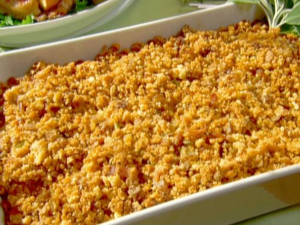 Ambrosia Recipe Thanksgiving Bacon And Cornbread Stuffing