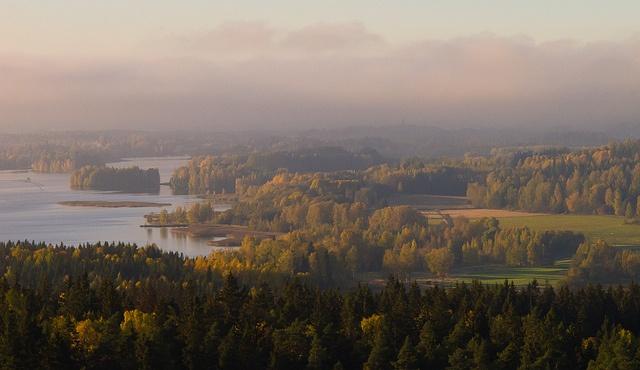 A view from Hämeenlinna observation tower