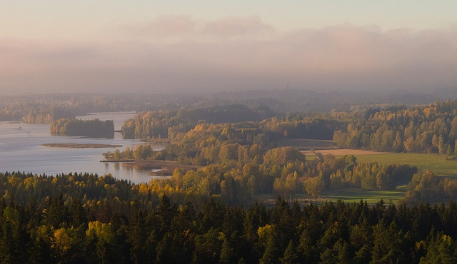 A view from Hämeenlinna observation tower