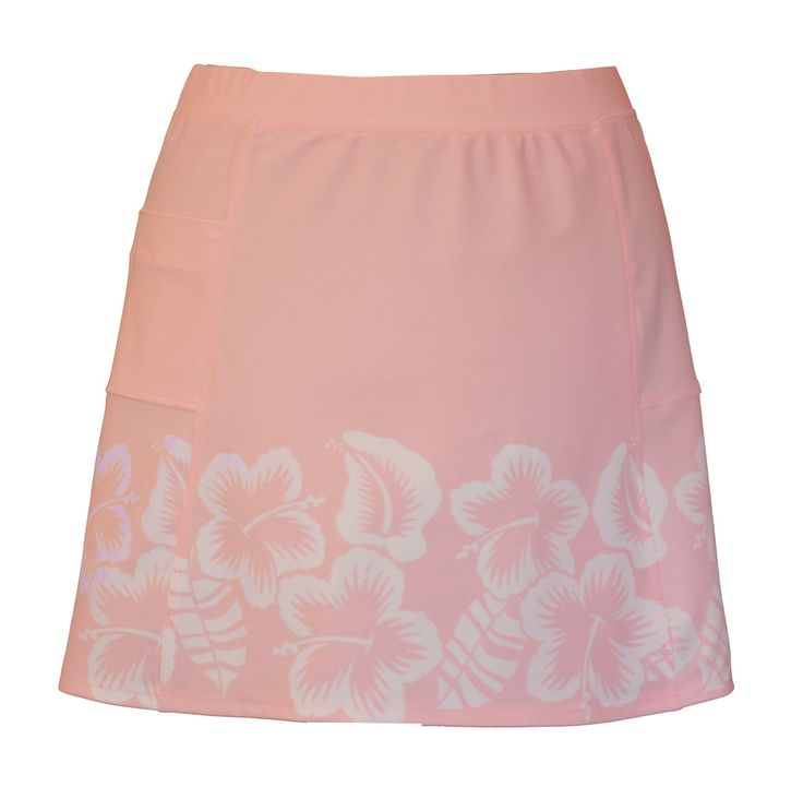 Lady Golfwear - Flirty Summer Skirt in Hibiscus, $32.00 (http://www.ladygolfwear.com.au/flirty-summer-skirt-in-hibiscus/)