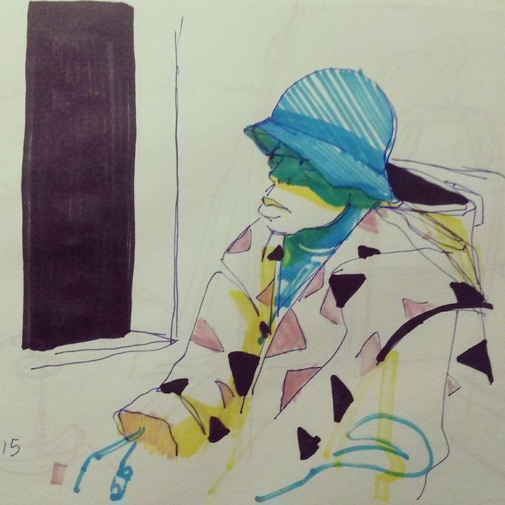 Sketchbook - Subway - São Paulo - Welton Santos