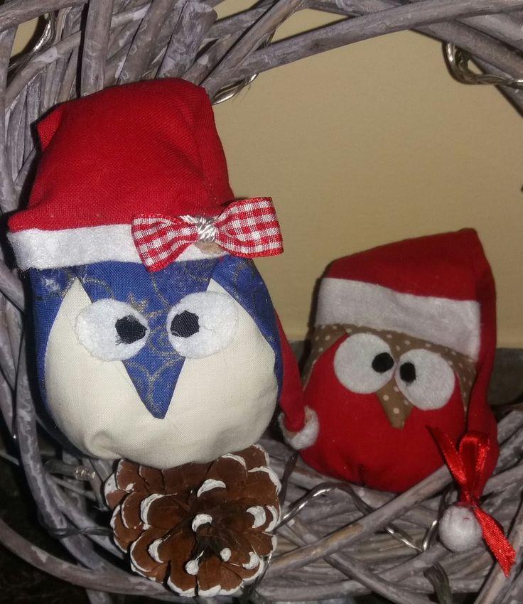 Gufetti natalizi decorativi , by francycreations non solo idee regalo, 4,00 € su misshobby.com