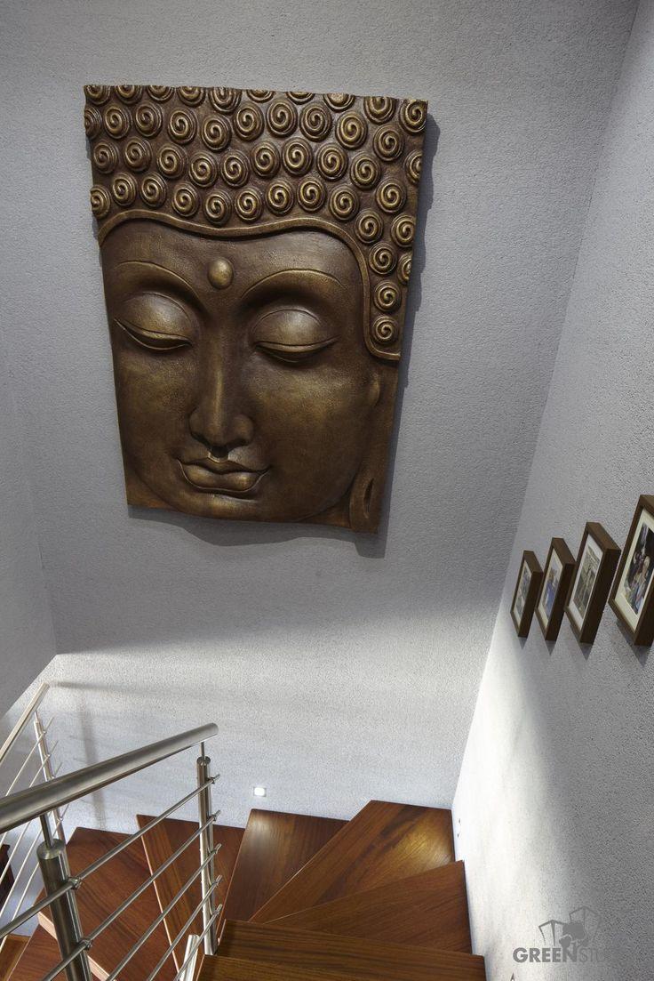 Interiér bytu na Bosákovej ulici - schody