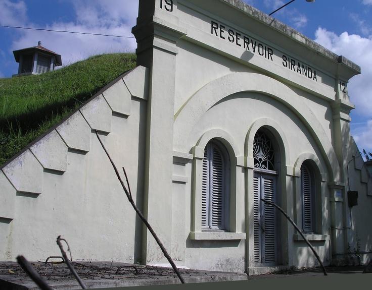 Semarang, old reservoir building