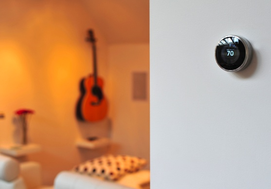 Nest in a lovely, warm room.: Tectonics Design, Tech Products, Learning Thermostat, Home Appliances, Nests Learning, Nests Features, Nests Thermostat, Design Offices, Generation Nests