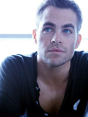 My new celebrity crush...Chris Pine. Not sure why he's famous, maybe just because he is so pretty