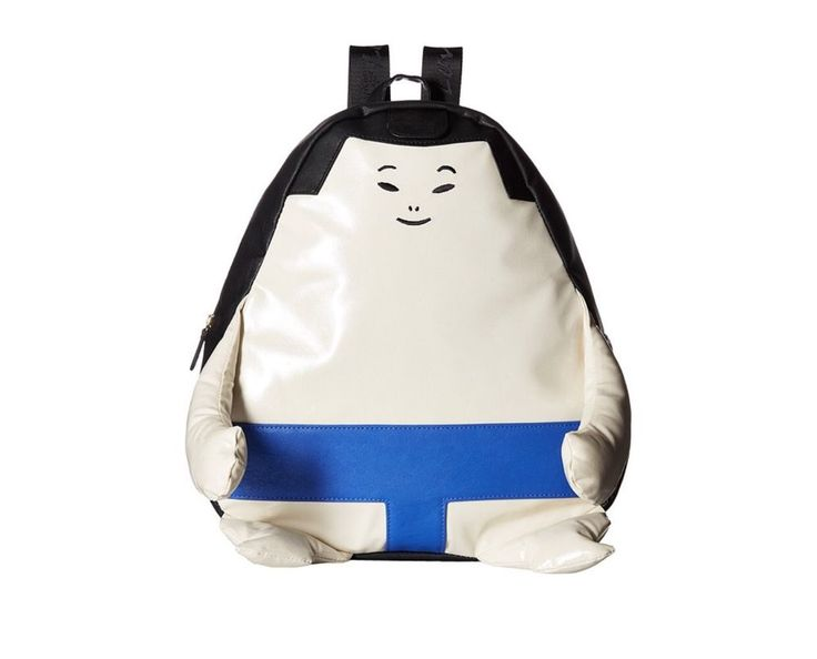 New Betsey Johnson Sumo-Wrestler Kitsch Backpack #BetseyJohnson #Backpack